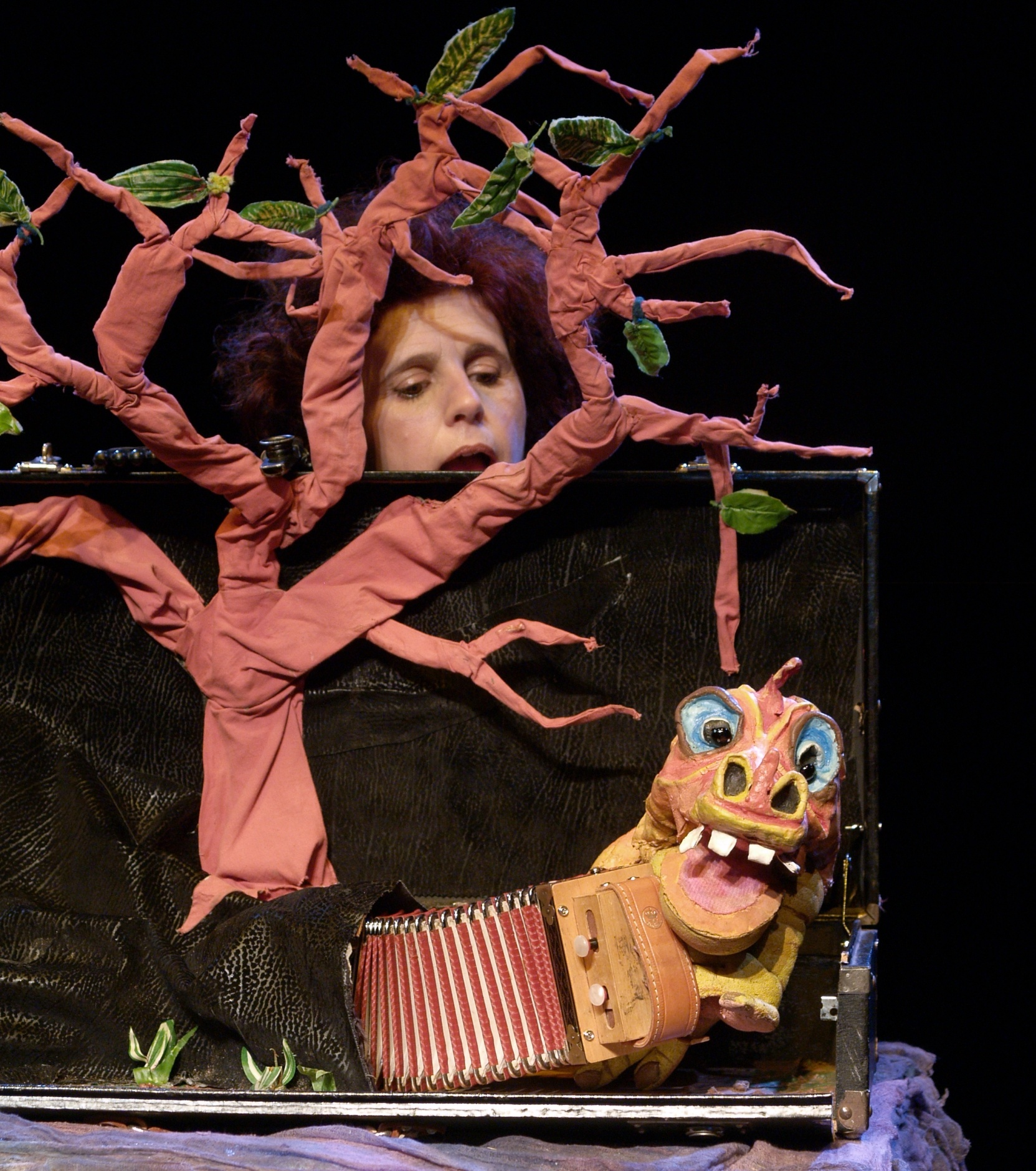 El bosque en la maleta. Teatro dei Fauni. Locarno Suiza
