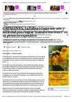 CATALUNYA.-La Fabra i Coats une arte y sociedad para lograr _transformaciones_ en su proyecto expositivo