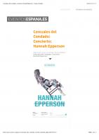 Cerezales del Condado: Concierto: Hannah Epperson – Eventos España
