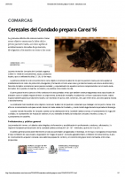 Cerezales del Condado prepara Carea16 . leonoticias