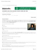 Conversando con Sonia Navarro | latamuda