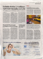 El Pueblo se convierte en un observatorio del cielo _ Diario de León _ 31-12-15