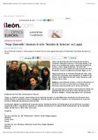 'Neige Ensemble' clausura el ciclo 'Sonidos de Invierno' en Lugán – ileon.com