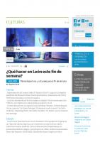Prensa_2017_01_06_Que hacer en Leon este fin de semana_La NUeva Cronica
