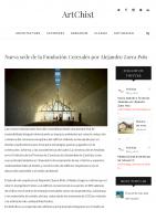 Prensa_2017_01_13_Nueva sede de la Fundacion Cerezales porAlejandro Zaera Polo – ArtChist