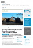 Prensa_2017_01_18_El edificio de la Fundacion Cerezales premio Construccion Sostenible_La Nueva Cronica