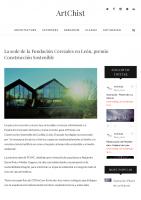 Prensa_2017_01_18_La sede de la Fundacion Cerezales en Leon premio Construccion Sostenible – ArtChist