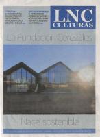 Prensa_2017_01_19_La Fundacion Cerezales nace sostenible_Con un pan bajo el brazo_ La Nueva Cronica