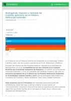 Prensa_2017_01_19_Munogalindo Sequeros y Cerezales del Condado ganadores de los Premios Edificacion Sostenible_Tribuna de Avila