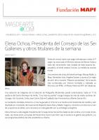 Prensa_2017_01_20_Elena Ochoa Presidenta del Consejo de las Serpentine Galleries y otros titulares de la semana_MasdeArte