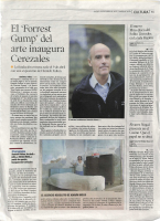 Prensa_2017_01_26_El Forrest Gump del arte inaugura Cerezales_Diario de Leon