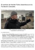 Prensa_2017_01_27_El caminar de Hamish Fulton desemboca en la Fundacion Cerezales | Tam-Tam Press