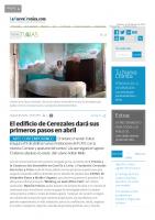 Prensa_2017_01_27_El edificio de Cerezales dara sus primeros pasos en abril_La Nueva Cronica