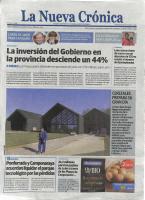 Prensa_2017_04_05_Cerezales prepara su gran dia_Hamish Fulton se detiene en Cerezales del Condado_La NUeva Cronica
