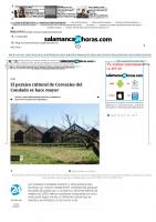 Prensa_2017_04_07_El paraiso cultural de Cerezales del Condado se hace mayor – Castilla Y Leon – Diario Noticias Salamanca 24 Horas