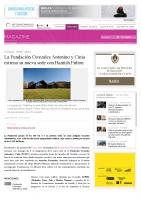 Prensa_2017_04_08_La Fundacion Cerezales Antonino y Cinia estrena su nueva sede con Hamish Fulton_ARTEINFORMADO