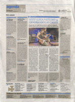 Prensa_2017_04_08_Walking on and off the path_Agenda_El Dia de Leon