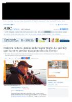 Prensa_2017_04_09_Hamish Fulton Jamas andaria por Marte Lo que hay que hacer es prestar mas atencion a la Tierra_ABC Cultural