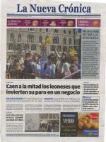 Prensa_2017_04_10_Cerezales estrena su nueva catedral con obras de Fulton_Portada_La Nueva Cronica