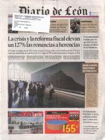 Prensa_2017_04_10_Gran espacio multitarea en Cerezales_Portada_Diario de Leon