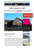 Prensa_2017_04_11_Hamish Fulton en Leon | Exit Express