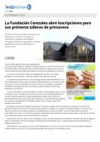 Prensa_2017_04_18_La Fundacion Cerezales abre inscripciones para sus primeros talleres de primavera_leonoticias.com