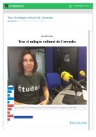 Prensa_2017_04_18_Tras el milagro cultural de Cerezales | Radio Leon | Cadena SER