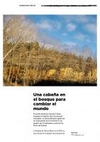 Prensa_2017_04_19_Una cabana en el bosque para cambiar el mundo – YOROKOBU