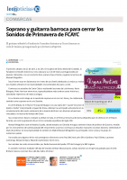 Prensa_2017_04_21_Soprano y guitarra barroca para cerrar los Sonidos de Primavera de FCAYC_leonoticias_com