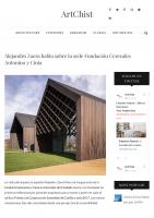 Prensa_2017_04_27_Alejandro Zaera habla sobre la sede Fundacion Cerezales Antonino y Cinia – ArtChist