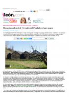 Prensa_2017_04_7_El paraiso cultural de Cerezales del Condado se hace mayor – ileon.com