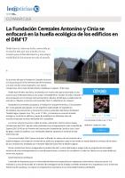Prensa_2017_05_16_La Fundacion Cerezales Antonino y Cinia se enfocara en la huella ecologica de los edificios en el DIM17_leonoticias.com