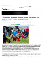 Prensa_2017_05_20_Cerezales cierra este domingo su segundo 'Redil de conocimientos, razas y productos_Carea 17 con muestras y degustaciones – ileon.com