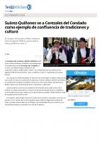 Prensa_2017_05_21_Suarez-Quinones ve a Cerezales del Condado como ejemplo de confluencia de tradiciones y cultura_leonoticias.com