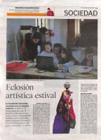 Prensa_2017_07_10_Eclosion artistica estival_Diario de Leon