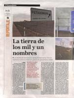 Prensa_2017_12_10_La tierra de los mil y un nombres_Filandon_Diario de Leon