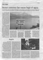 Prensa_2017_12_2_Benet convoca las voces bajo el agua_EL PAIS