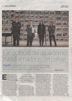 Prensa_2017_12_2_Las politicas del agua como transformadoras del paisaje_La nueca cronica