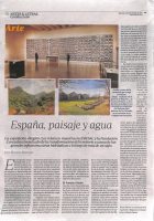 Prensa_2017_12_30_Espania paisaje y agua_Artes y Letras ABC CyL