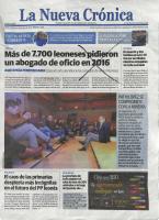 Prensa_2017_3_21_Fulton artista y caminante_Portada_ la NUeva Cronica