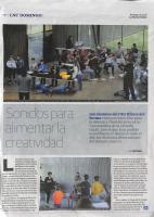 Prensa_2018_5_13_Sonidos para alimentar la creatividad_ La Nueva Cronica