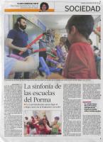 Prensa_2018_5_18_La sinfonia de las escuelas del porma_ Diario de Leon