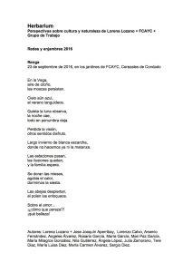 poesi Renga Herbarium