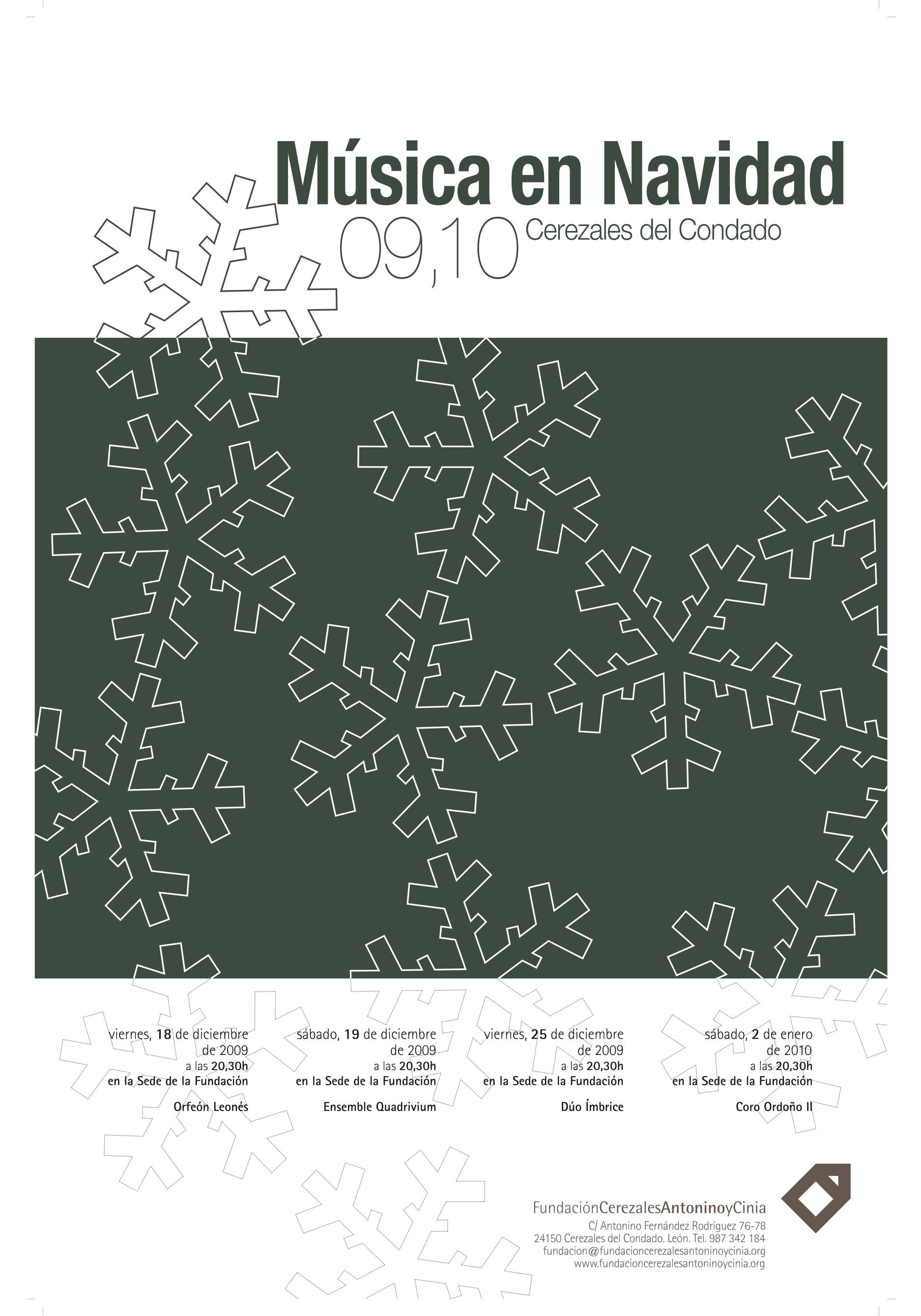 cartel navidad 09-10