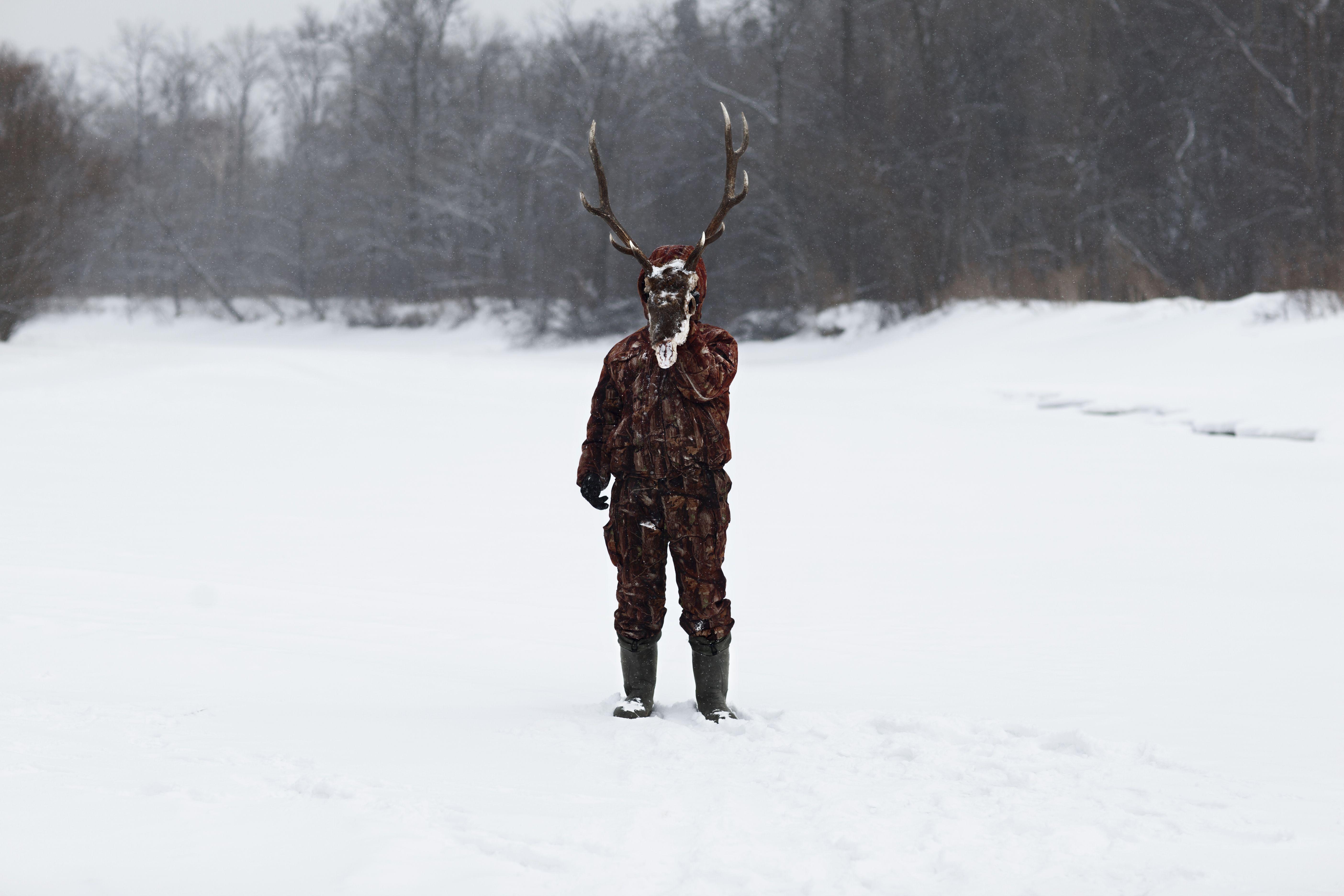 Exposición el cazador alvaro laiz Fundacion Cerezales