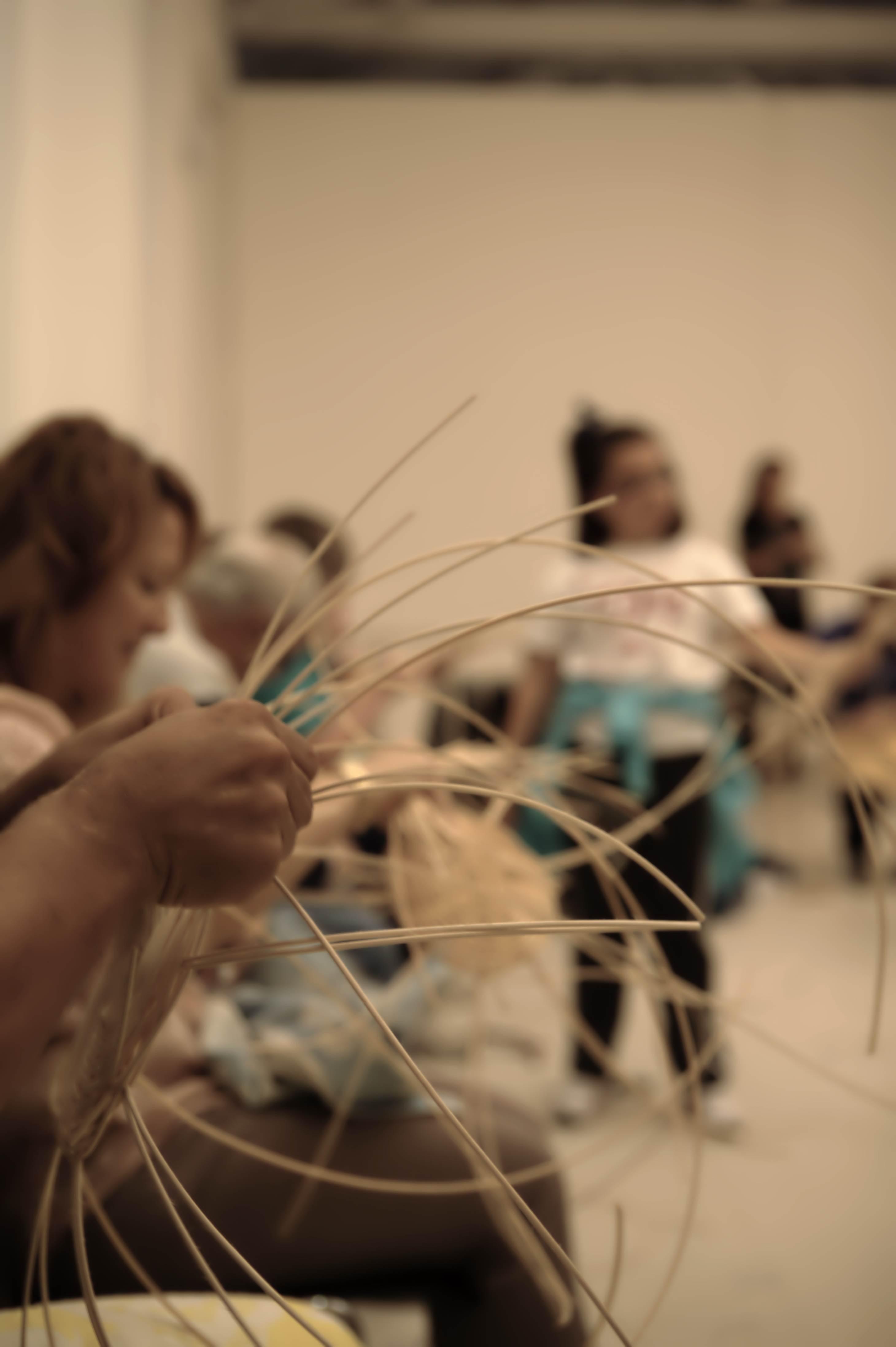 Taller cestería 2012 Fundación cerezales